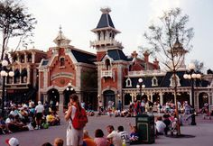 Eurodisney Disneyland Paris 1992