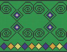 Worki mochilla i wayuu Cross Stitch Embroidery, Cross Stitch Patterns, Cross Stitching, Crochet Handbags, Crochet Purses, Diy Crochet, Crochet Hats, Mochila Crochet, Tapestry Crochet Patterns