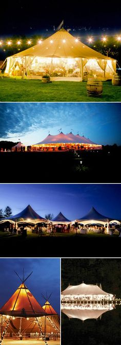 15 Romantic Wedding Tents