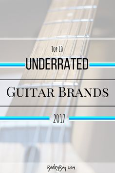 Guitars, the brands and manufacturers that you have probably never heard of before today. Do you know of any guitar brands that should have made the list? Buden Bay offers this music blog as help for all musicians, guitarists and aspiring players around the world in their search for their own unique instrument. Hopefully this can help you to find your image and your sound.