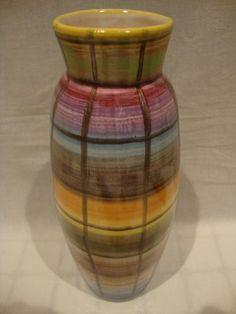Jelzett retro iparművész kerámia váza extra - Kerámia   Galéria Savaria online piactér - Antik, műtárgy, régiség vásárlás és eladás