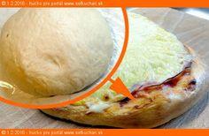 Pizza cesto (neskutočne dobré) 330 ml teplej vody 40-45° 18g soli (1 PL) 22g kryštálový cukor (1PL) 330 g hladká múka 275g polohrubá múka 55 ml olej 1/2 suché droždie  Vypracujeme cesto, necháme kysnúť na teplejšom mieste. Dostaneme tak niečo vyše kila cesta (1036g) Ak chceme tenšie chrumkavejšie cesto,rozdelíme na 4 kusy, ale máme radi hrubšie - no mäkkučké, stačí na 3 kusy. Ak máme radi tenulililinké cesto, tak namiesto 330ml teplej vody odporúčam dať 350 ml teplej vody.