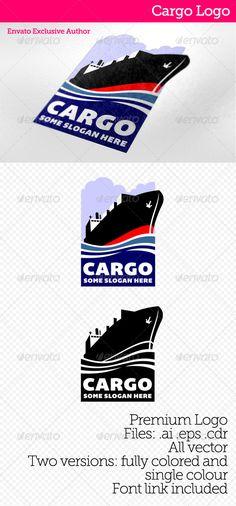 Cargo  - Logo Design Template Vector #logotype Download it here: http://graphicriver.net/item/cargo-logo/4126689?s_rank=1209?ref=nexion