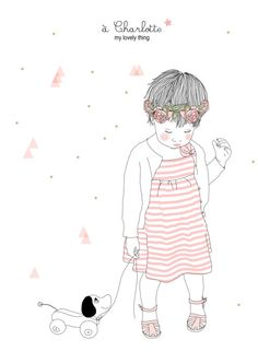 My Lovely things - Illustrations Poètiques