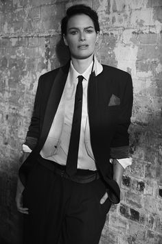 edenliaothewomb:   Lena Headey, photographed... - I Dream of Dapper