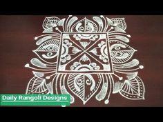 latest rangoli designs with 5 dots Kolam Rangoli, Simple Rangoli, Beautiful Rangoli Designs, Kolam Designs, Latest Rangoli, Muggulu Design, Art Cards, Crafts For Kids, Fat