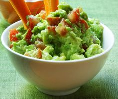 Avocado Dip l  This dip includes avocados, plain Greek yogurt, and other clean-eating ingredients.