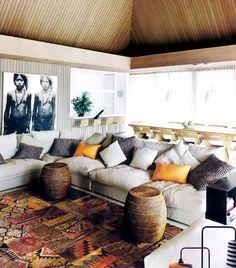 Kilim Patchwork / Contemporary livingroom