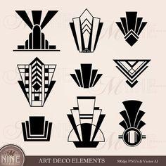 Arte Art Deco, Moda Art Deco, Estilo Art Deco, 1920s Art Deco, Clipart, Art Deco Artwork, Art Art, Art Deco Paintings, Art Deco Tattoo