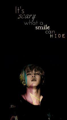 é assustador o que um sorriso pode esconder
