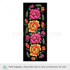 Mexican Embroidery, Folk Embroidery, Embroidery Patterns, Bordado Popular, Mexican Blouse, Mexican Designs, Color Stories, Art Reference, Art Projects