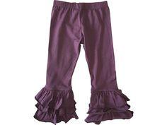 3-2-1 Girls Triple Ruffle Pants