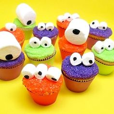 Monster Cupcakes Kids Party Food