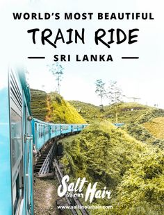 Sri Lanka Train Kandy to Ella: One of the World's Most Beautiful Train Rides