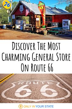 Parks In The Pines General Store, Located In Arizona On Route Is Older Than The Highway Itself Old Route 66, Route 66 Road Trip, Historic Route 66, Travel Route, Us Road Trip, Travel Usa, Places To Travel, Travel Oklahoma, Travel Info