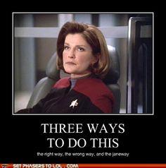 Chose the Janeway!