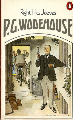 Right Ho, Jeeves by P.G. Wodehouse. Another fantastic Jeeves & Wooster story! I so wish I could get away with acting like Jeeves sometimes... Also, this cover art is brilliant! KJC