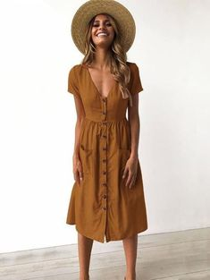 Wondering what to wear on vacation? We provide many options. Shop pretty, affordable and  Bohemian vacation dresses at visualdress.com. Free shipping and easy return!