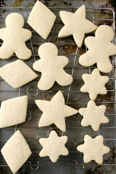Gluten Free Cut-Out Sugar Cookies | Natural Chow  USE BOB'S RED MILL 1 TO 1 GF FLOUR