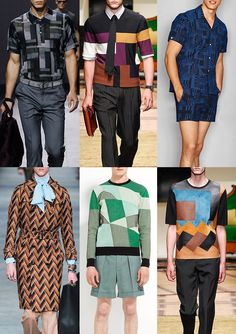 Menswear Spring/Summer 2016 Catwalk Print & Pattern Trend Highlights Part 1 - Constructed