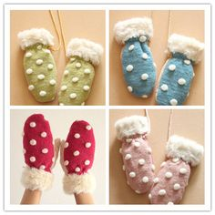 cute winter Christmas gloves $10.00