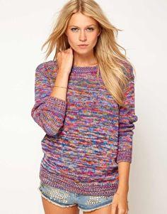 multi-colour bf sweater