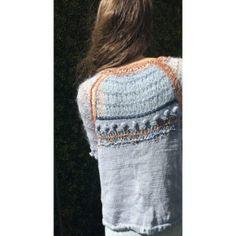 Pull Fait Main Angora Tricot D'art, Creations, Pants, Fashion, Lace, Fabric, Haute Couture, Trouser Pants, Moda