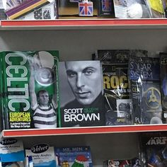 Unexpected surprise at the till in WH Smith :) #bitexcited #stillbragging #myfirstbookcover #celticfc #scottbrown