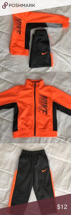 Kids Nike Jacket/Pants Kids size 2T Nike jacket & pants. Pants are lined. In  great condition. Nike Matching Sets