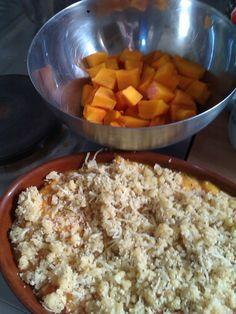 Crumble+de+potimarron+au+fromage+fondu+-+Recette+de+cuisine+Marmiton+:+une+recette
