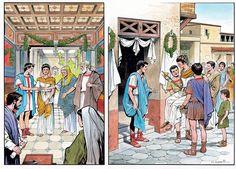Matrimonio Ancient Pompeii, Ancient Art, Ancient History, Fontanini Nativity, Rome City, Medieval World, Roman History, Roman Art, Ancient Mysteries