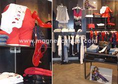 moda, fashion, visual merchandising, experiencia cliente, facilitar al compra, comunicación visual, deseo, color