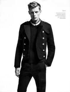 Bastian Thiery, Nicolas Ripoll, Jesse Shannon & Others Don Italian Styles for LOfficiel Hommes Italia