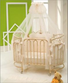 The Contessa Oval Cot. Simply gorgeous!