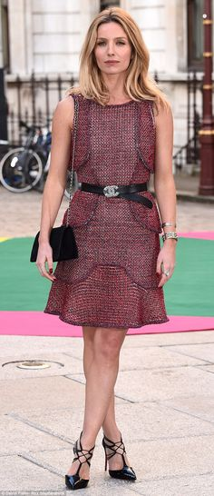 Dressed head to toe in Chanel, English actress Annabelle attends the VIP preview of the Royal Academy Summer Exhibition in June