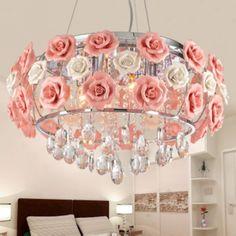 hanglamp romantisch roos - Google zoeken