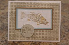 Fish Fossils by mayodino - Cards and Paper Crafts at Splitcoaststampers