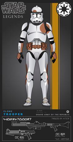Clone, 7th Legion by efrajoey1