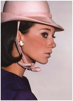 60 s marisa berenson photo color tag gianni penati vintage vogue ...