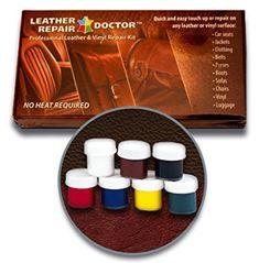 Leather Repair Doctor Vinyl Repair Kit Seat Car 7 Color Fast Drying No Heat for sale online