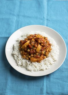 Incredibly easy veggie curry