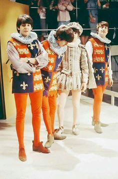 In April of 1964, just a month after their famous debute on the Ed Sullivan show the Beatles performed a sketch from Shakespeare's A Midsumm...