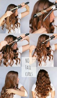 Easy Curls - Hairstyles and Beauty Tips