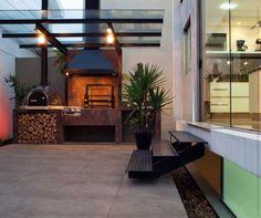 Churrasqueira e forno a lenha  http://flaviocastro.com.br/projetos/imagem/1440