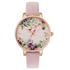 Adoring this floral Ted Baker London watch with a pink strap and rose gold details. Fitbit Versa Smartwatch In Rose Gold Fitbit Versa Smartwatch In Rose Gold Jewelry Accessories, Fashion Accessories, Gold Jewelry, Jewellery, Steel Jewelry, Leather Jewelry, Jewelry Bracelets, Jewelry Design, London Watch
