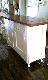 DIY Kitchen Islands :: Lisa I's clipboard on Hometalk :: Hometalk