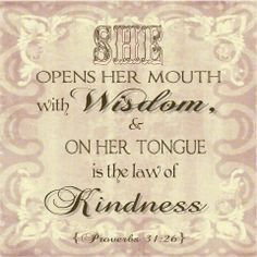 The Law of Kindness