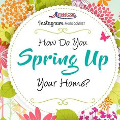How do your SPRING UP your home?  Show us in an Instagram post and you could win a $250 gift card from AFW  1. Follow Us On Instagram  2. Tag @AFWonline 3. Use the Hashtag #AFWatHome Click link in bio  for full instructions and rules!