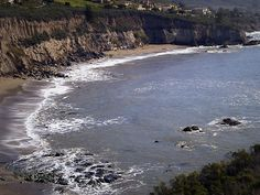 Pirates Cove - Nude Beach    A beautiful cove at Avila Beach, CA. Be careful though, it's a nude beach!