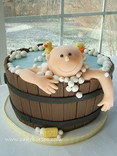 Washtub Baby Cake